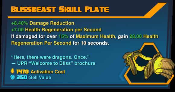 Blissbeast Skull Plate