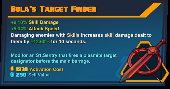 Bola's Target Finder