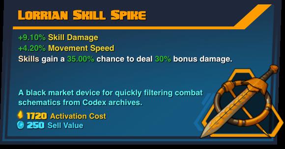 Lorrian Skill Spike