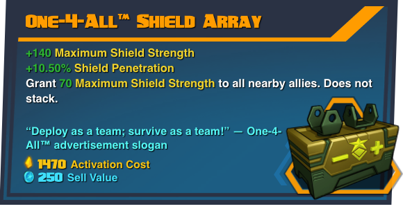 One-4-All™ Shield Array