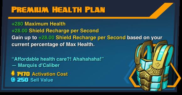Premium Health Plan
