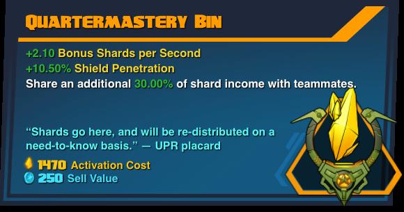 Quartermastery Bin