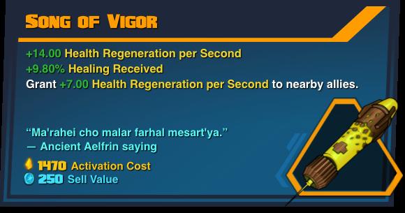 Song of Vigor