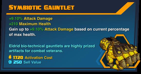 Symbiotic Gauntlet