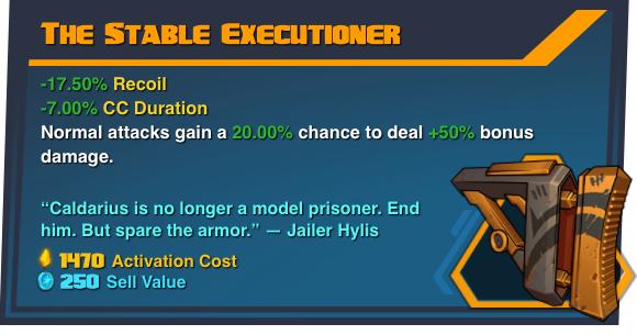 The Stable Executioner