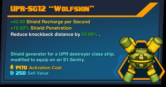 """UPR-SG12 """"Wolfskin"""""""