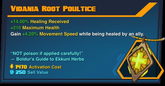 Vidania Root Poultice