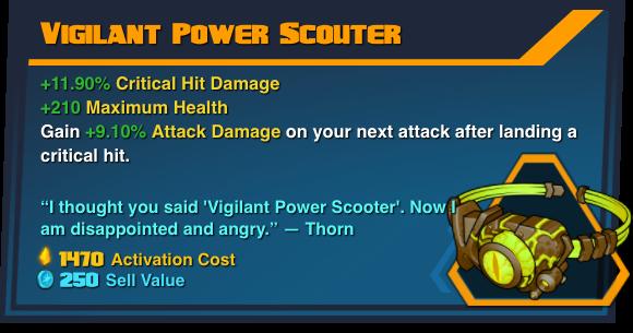Vigilant Power Scouter