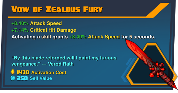 Vow of Zealous Fury
