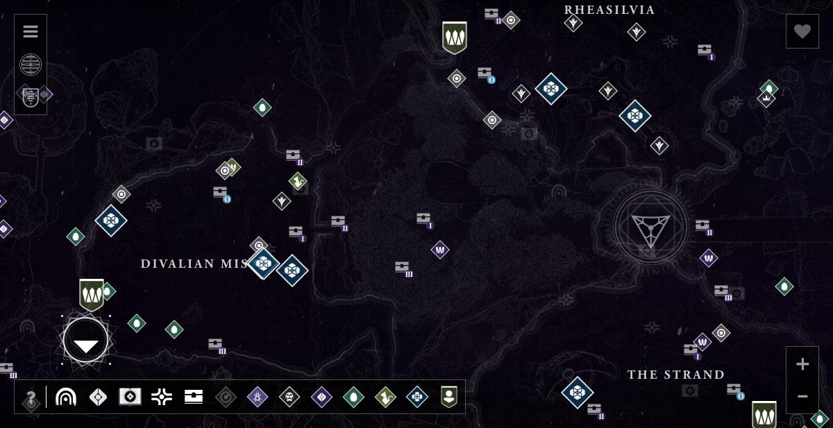Destiny 2 Raid Karte.Dreaming City Maps Destiny Lowlidev